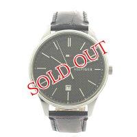 トミーヒルフィガー TOMMY HILFIGER 腕時計 メンズ 1791494 クォーツ ブラック ブラック