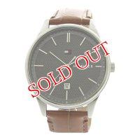トミーヒルフィガー TOMMY HILFIGER 腕時計 メンズ 1791492 クォーツ ブラック ブラウン ブラック