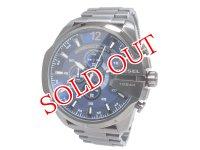 ディーゼル DIESEL クオーツ クロノグラフ メンズ 腕時計 DZ4329 ブルーブラック ブルー