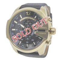 ディーゼル DIESEL メガチーフ メンズ クオーツ クロノ 腕時計 DZ4344 ブラック ブラック