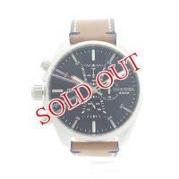 ディーゼル DIESEL クロノ クオーツ メンズ 腕時計 DZ4470 ネイビー/ブラウン ネイビー
