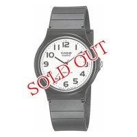 カシオ CASIO クオーツ 腕時計 MQ-24-7B2L ホワイト×ブラック ホワイト