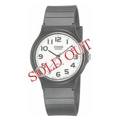 画像1: カシオ CASIO クオーツ 腕時計 MQ-24-7B2L ホワイト×ブラック ホワイト