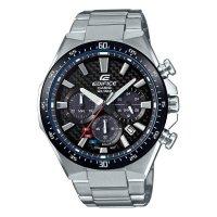 CASIO EDIFICE EQS-800CDB-1A ソーラー クロノグラフ エディフィス メンズ 腕時計