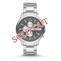 Armani Exchange アルマーニエクスチェンジ AX2152 ブラック×シルバー 腕時計 メンズ