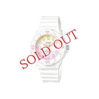 カシオ CASIO ダイバールック クオーツ レディース 腕時計 LRW-200H-4E2 イエロー/ピンク