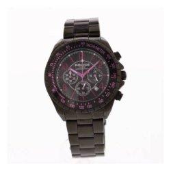 画像1: POLICE ポリス クロノグラフ 腕時計 PL.2545JSB/02MA メンズ ブラック ステンレス 腕時計