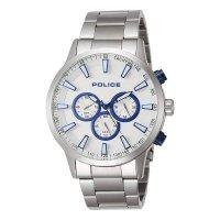 POLICE ポリス 腕時計 MOMENTUM PL.15000JS/04M メンズ クロノグラフ ブラック文字盤 シルバー ステンレス 腕時計