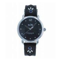 COACH コーチ 腕時計 DELANCEY デランシー ブラック レザー レディース 14502738
