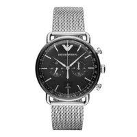エンポリオ アルマーニ EMPORIO ARMANI クロノグラフ 腕時計 メンズ AR11104 クオーツ