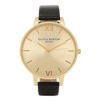 OLIVIA BURTON オリビアバートン BIG DIAL BLACK AND GOLD ゴールド×ブラック OB13BD06 腕時計 レディース