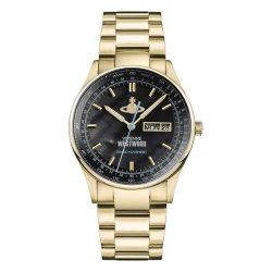 画像1: ヴィヴィアンウエストウッド VIVIENNE WESTWOOD 腕時計 メンズ VV207BKGD クォーツ