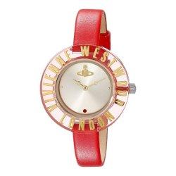画像1: VIVIENNE WESTWOOD ヴィヴィアン ウエストウッド レディース Clarity クラリティ レッド VV032RD 腕時計