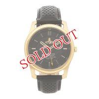 ヴィヴィアンウエストウッド Vivienne Westwood クオーツ メンズ 腕時計 VV185GDBK