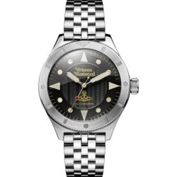 画像1: ヴィヴィアン ウエストウッド スミスフィールド ユニセックス 腕時計 VV160BKSL
