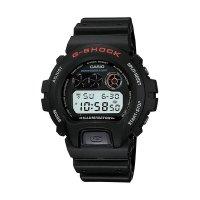 カシオ G-Shock クロノグラフ ブラック デジタル メンズ スポーツ 腕時計 DW6900-1V