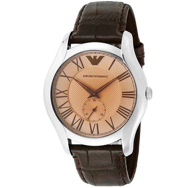 pretty nice 51bc6 c8043 エンポリオ アルマーニ EMPORIO ARMANI クオーツ メンズ 腕時計 AR1704 ブラウン