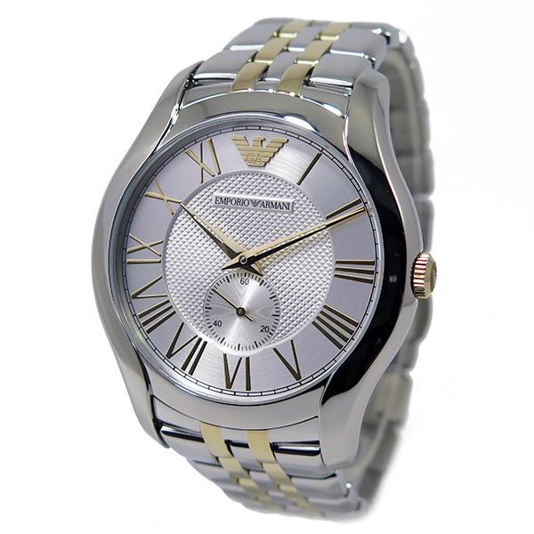 new product fa026 19b12 エンポリオ アルマーニ EMPORIO ARMANI バレンテ メンズ 腕時計 AR1844 シルバー