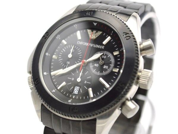 エンポリオ アルマーニ EMPORIO ARMANI 腕時計 AR0547 文字盤、全体
