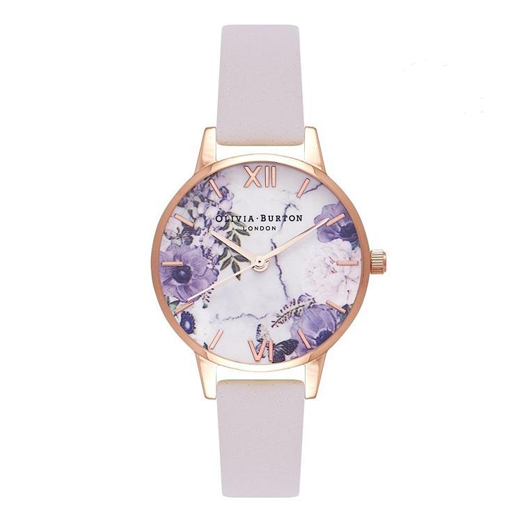 best cheap 226be 6dda0 オリビアバートン OLIVIA BURTON 腕時計 Blush & ローズゴールド 30mm 女性 レディース 腕時計 レザー OB16MF02
