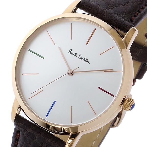 san francisco 155fb 0877e ポールスミス PAUL SMITH エムエー MA クオーツ メンズ 腕時計 P10101 シルバー
